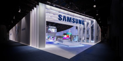 2013 CES Samsung main entrance